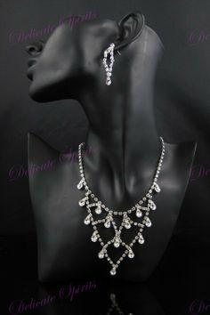 Jewelcology - My Marquise Crystal Rhinestone Prom Bridal Wedding Bridesmaid Necklace Earring Set , $56.96 (http://jewelcology.com/my-marquise-crystal-rhinestone-prom-bridal-wedding-bridesmaid-necklace-earring-set/)