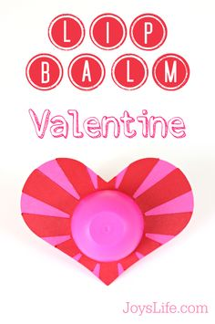 Not to freak you out but.one month from today is Valentine's Day! So, I'm freaking myself out too. Valentine's Day is the holiday that I always let slip up on me. I usually think that J. Best Lip Gloss, Valentines For Kids, Home Made Soap, Body Lotion, Silhouette Cameo, Lip Balm, Cricut, Lips, Joy