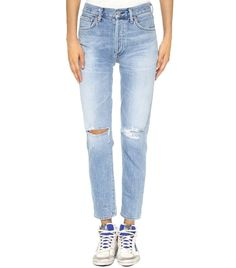 Citizens of Humanity Liya High Rise Classic Fit Jeans - StylishOffer Jeans Fit, Torn Jeans, Denim Jeans, Ripped Denim, Plus Size Jeans, Sporty Chic, Rachel Comey, Vintage Jeans, Boyfriend Jeans
