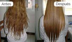 Lo habitual es usar productos químicos o la plancha a para alisar el cabello. Pero se puede tener un pelo liso de manera mucho más natural y menos agresiva.