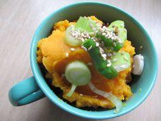 Herbstlicher Aufstrich (Möhre-Kürbis-Süßkartoffel). Dieser Aufstrich ist schnell zubereitet, zur Not auch ohne...