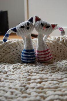 Kattis, gratis mönster! - Blogg - Mönster på virkat och stickat - Crochetra