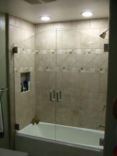 35 best glass bathtub door images bathroom bathroom remodeling rh pinterest com