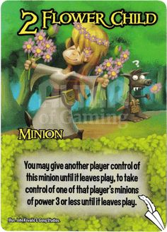 Flower Child - Elves - Smash Up Card | Altar of Gaming