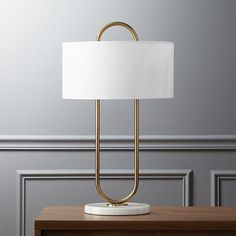 warner table lamp | CB2