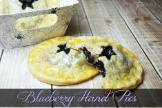 Starry Night Blueberry Hand Pies | The TipToe Fairy