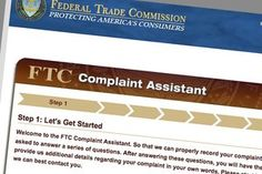 Problems on your credit report?  Online form at FTC website to dispute a credit report