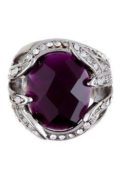 HauteLook | Fabulous Finds: Jewelry Under $99: Purple Crystal Ring