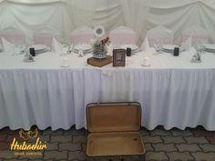 e0f02b1fe3 Esküvői dekoráció - vintage Esküvői dekor - rózsaszín (Kecskemét, Bajor  Étterem, Dekoráció: