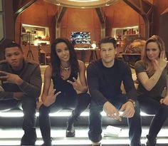 Jax, Amaya, Nate, and Sara   Legends of Tomorrow