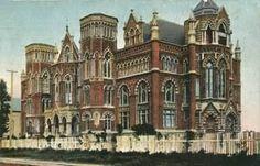 Ursuline Academy, Galveston, Tx, N.J. Clayton, architect, High Victorian Venetian Gothic style, demolished 1962