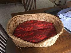 Dog Wicker Basket Beds