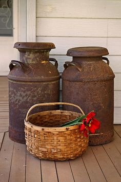 Antique Milk Cans Photograph  - Antique Milk Cans Fine Art Print