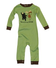 """""""Born to be Wild"""" pj's with old-fashioned flap panel in back - 18 mo old"""