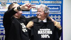 Onorevole Antonio Razzi Ospite del Leader Maschio 100% Salvatore Marino ...