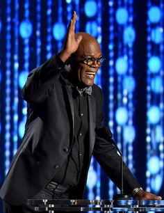 Pin for Later: Stars Get All Glammed Up For the Governors Awards  Pictured: Samuel L. Jackson