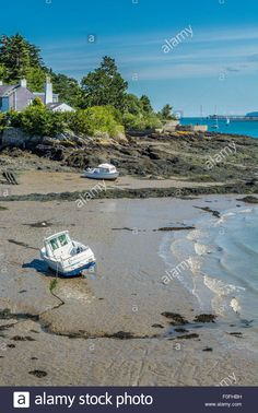 Download this stock image: View of the Menai Straits , Anglesey, North Wales, UK taken on the 8th August 2015. - F0FHBH from Alamy's library of millions of high resolution stock photos, illustrations and vectors.