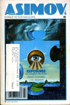 Isaac Asimov's Science Fiction Magazine July 6, 1981 by HighStreetEphemera on Etsy