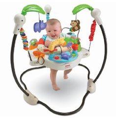 Hideous, but sanity saver.    Amazon.com: Fisher-Price Luv U Zoo Jumperoo: Baby