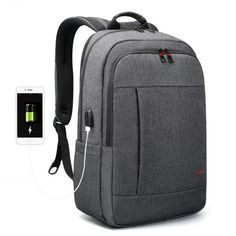 Anti thief USB 15.6 to 17inch laptop backpack for Women Men school Bag 03163933012d2