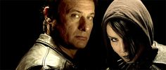 Micheal Nyqvist and Noomi Rapace. The original Mikeal and Lisbeth.