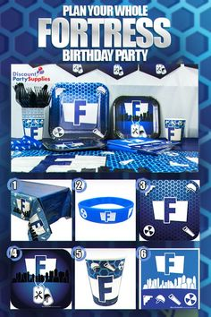 af7cda880f0dd Fortnite Party Supplies   Birthday Decorations