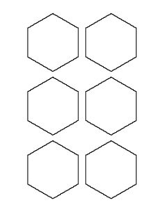 3 Inch Hexagon Pattern
