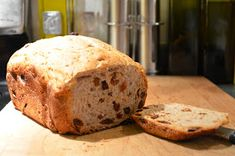 Lately I've been making the previous recipe as it was intended, as a raisin bread. I must say, it is absolutely delicious and the family g...