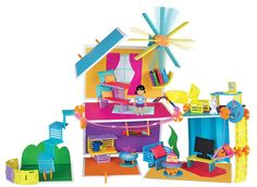 Roominate, an educational building set toy for girls between 6 and 12 years has been voted as one of the toys to look out for in 2015.