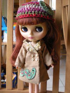 Blythe clothing made by Grandma Bonnie