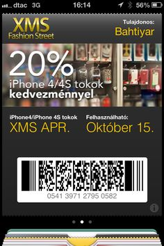 Check this cool Passbook Pass made using PassKit