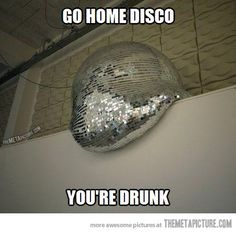 Disco, what are you doing?