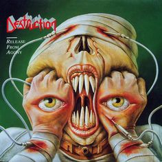 by Joachim Luetke   fb Band: Destruction Album: Release From Agony Year: 1987 Genre: Thrash Metal Listen