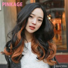[PINKAGE] (Hair Extensions) - Glam Wave Rex Yarn 3pcs