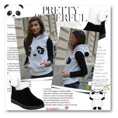 """Panda"" by belmina-v on Polyvore featuring moda"