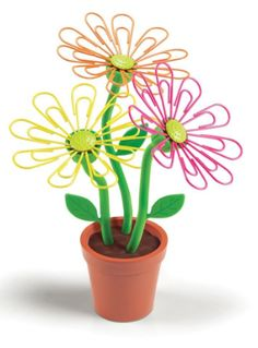 First Day of School Teacher Gift:  Desk Daisy Magnetic Paper Clip Holder @ Amazon