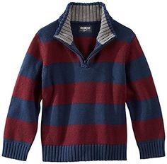 OshKosh Boys Toddler Stripe Zip Sweater 2T Burgundy red/navy OshKosh B'Gosh http://www.amazon.com/dp/B00OH0FOTQ/ref=cm_sw_r_pi_dp_jFFJvb0G6B92X