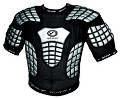 Optimum Matrix Rugby League Shoulder Pads - Large, Small, Large Boys, Small Boys #Optimum