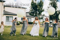 Our gorgeous bride Rychelle Ford with her bridesmaids in our Honour Strapless Dress by Jadore. Rychelle's girls customised the dress in custom colour JA011