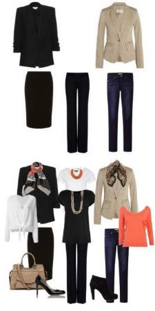 ♣ Bare minimum in your wardrobe? You can create a capsule wardrobe on a budget! #capsule wardrobe on a budget
