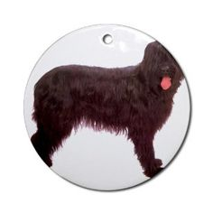 Briard Berger Dog Ornament Round Round Ornament by CafePress,$12.50