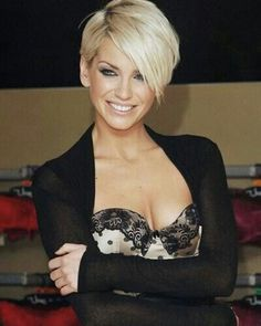 Long pixie. would do a little longer on the side with bangs