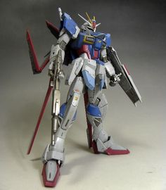 Custom Build: MG 1/100 Force Impulse Gundam + Weathering