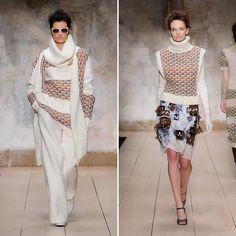 Laura Biagiotti FW 1718  'Biagiotti's fashion narrates the woman in a state of continuous progression.' #LBFashionshow#LBTricotyourlife#LBTricotarelavita#LBMetamorphosismood#mfw#mfw17#fw1718#laurabiagiotti#cashmere#tricot