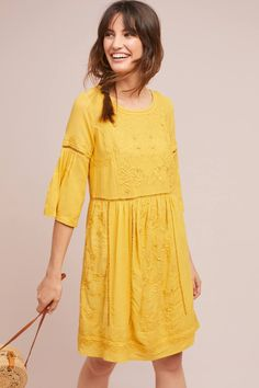 Tunic Laced Dress   Anthropologie