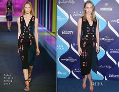 Emily Blunt In Peter Pilotto - 2nd Annual Unite4 humanity Event