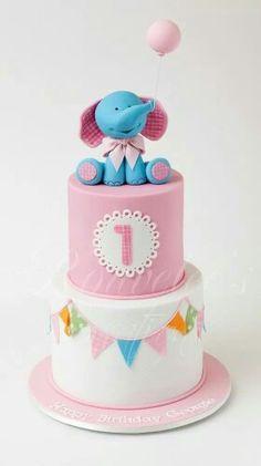 Elephant themed  cake