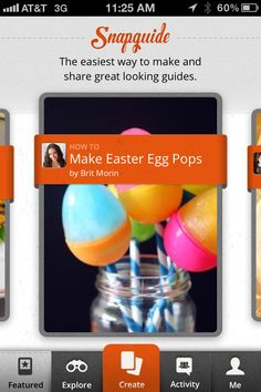 A new app called Snapguide lets you create and consume how-to tutorials on the go!