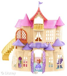 Disney 2013 Top Toys Article ~ Disney's Sofia Magical Talking Castle