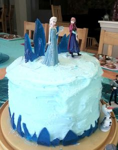 Frozen Ice Cream Cake Images : 1000+ images about frozen cakes on Pinterest Homemade ...